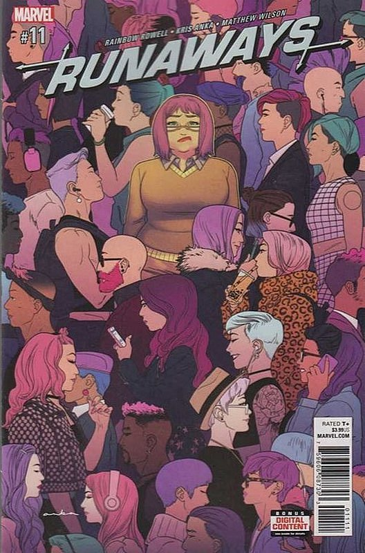 Cover of Runaways (Vol 5) #11. One of 250,000 Vintage American Comics on sale from Krypton!