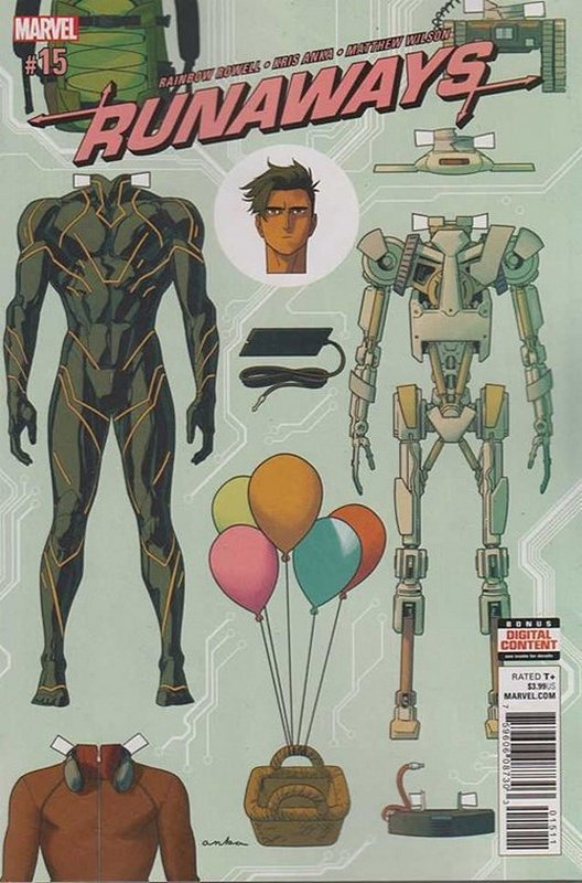 Cover of Runaways (Vol 5) #15. One of 250,000 Vintage American Comics on sale from Krypton!