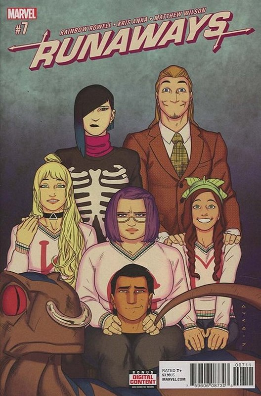 Cover of Runaways (Vol 5) #7. One of 250,000 Vintage American Comics on sale from Krypton!