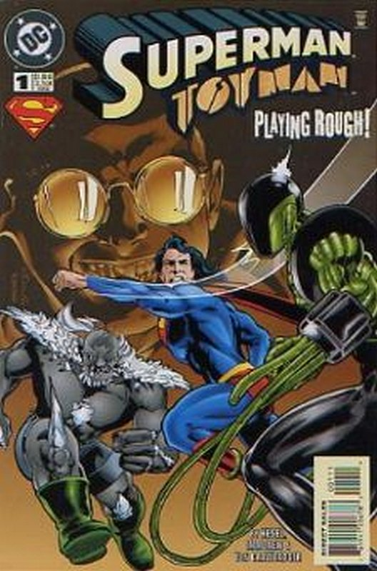 Cover of Superman/Toyman (1996 One Shot) #1. One of 250,000 Vintage American Comics on sale from Krypton!