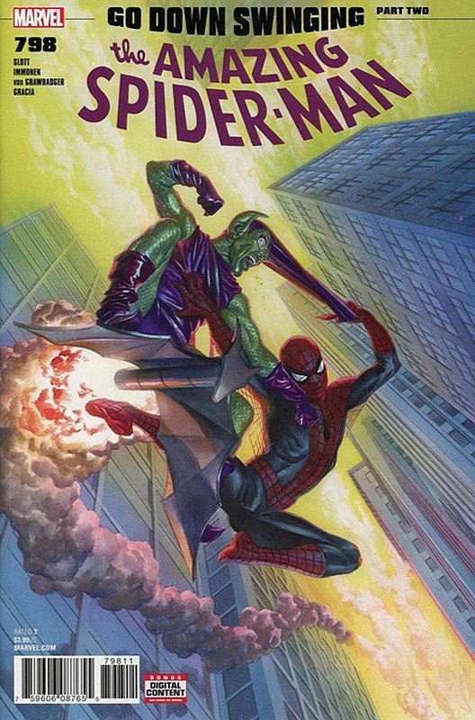 Cover of Amazing Spider-Man (Vol 5) #798. One of 250,000 Vintage American Comics on sale from Krypton!