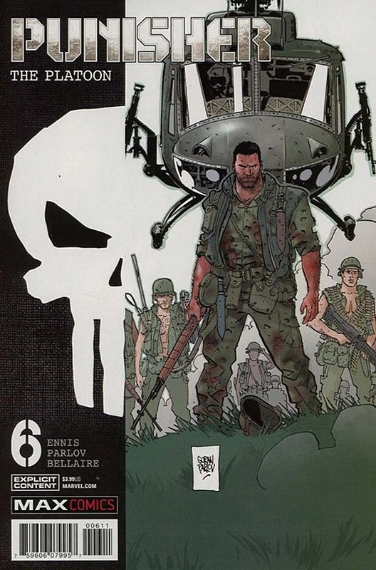 Cover of Punisher: Platoon (2017 Ltd) #6. One of 250,000 Vintage American Comics on sale from Krypton!