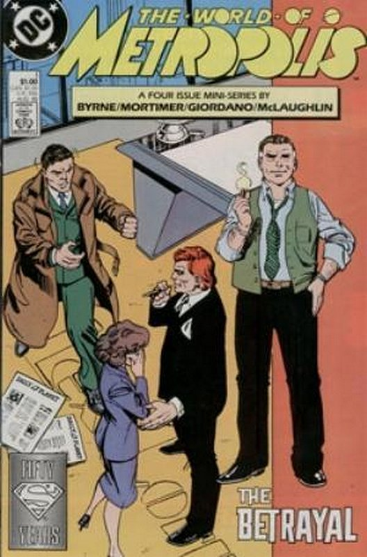 Cover of World of Metropolis (1998 Ltd) #1. One of 250,000 Vintage American Comics on sale from Krypton!