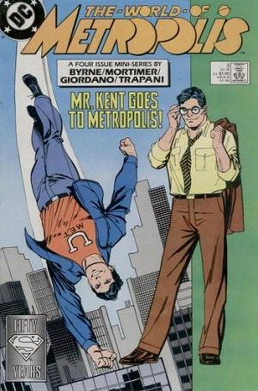 Cover of World of Metropolis (1998 Ltd) #3. One of 250,000 Vintage American Comics on sale from Krypton!