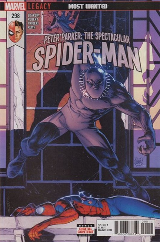 Cover of Peter Parker: Spectacular Spider-Man (Vol 2) #298. One of 250,000 Vintage American Comics on sale from Krypton!