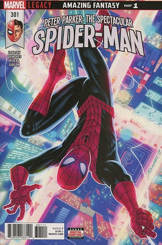 Cover of Peter Parker: Spectacular Spider-Man (Vol 2) #301. One of 250,000 Vintage American Comics on sale from Krypton!