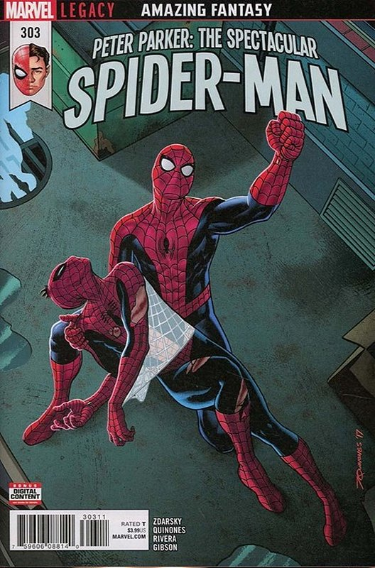 Cover of Peter Parker: Spectacular Spider-Man (Vol 2) #303. One of 250,000 Vintage American Comics on sale from Krypton!