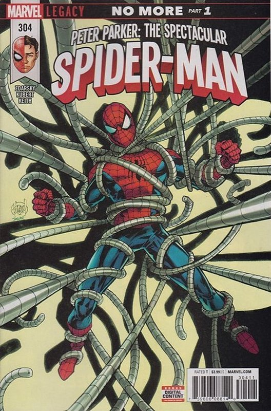 Cover of Peter Parker: Spectacular Spider-Man (Vol 2) #304. One of 250,000 Vintage American Comics on sale from Krypton!