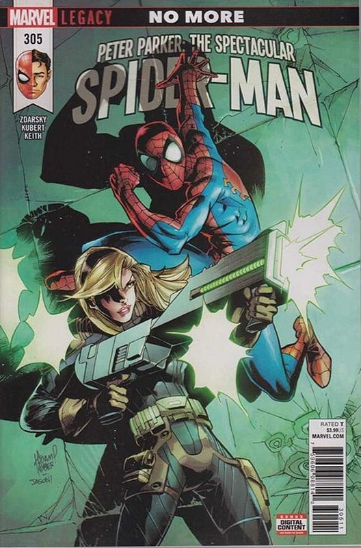 Cover of Peter Parker: Spectacular Spider-Man (Vol 2) #305. One of 250,000 Vintage American Comics on sale from Krypton!