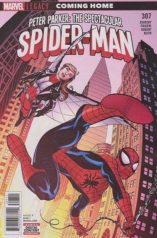Cover of Peter Parker: Spectacular Spider-Man (Vol 2) #307. One of 250,000 Vintage American Comics on sale from Krypton!