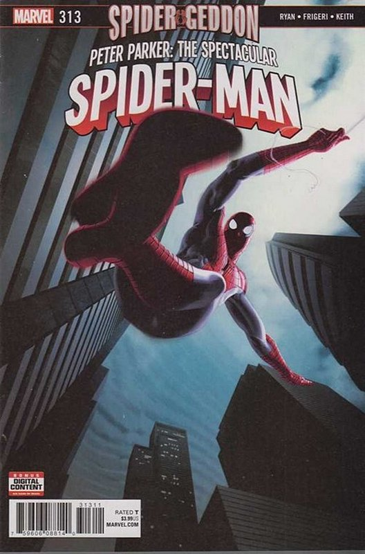 Cover of Peter Parker: Spectacular Spider-Man (Vol 2) #313. One of 250,000 Vintage American Comics on sale from Krypton!