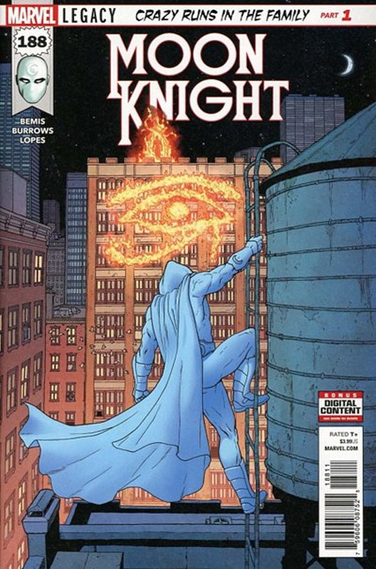 Cover of Moon Knight (Vol 8) #188. One of 250,000 Vintage American Comics on sale from Krypton!