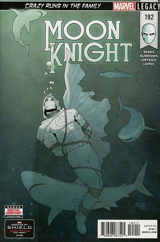 Cover of Moon Knight (Vol 8) #192. One of 250,000 Vintage American Comics on sale from Krypton!