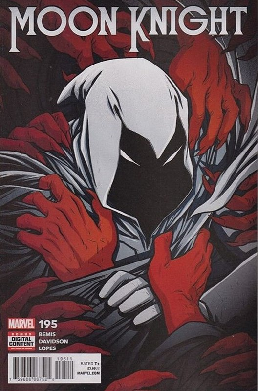 Cover of Moon Knight (Vol 8) #195. One of 250,000 Vintage American Comics on sale from Krypton!