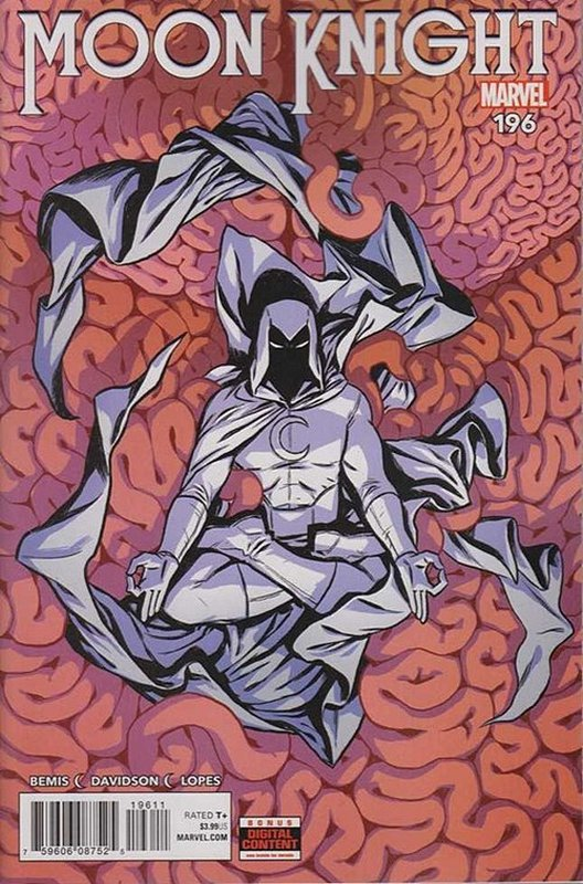 Cover of Moon Knight (Vol 8) #196. One of 250,000 Vintage American Comics on sale from Krypton!