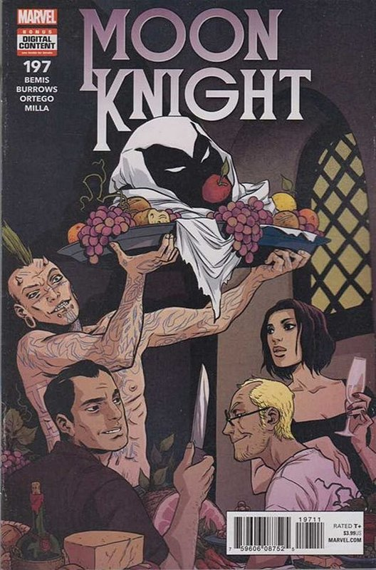 Cover of Moon Knight (Vol 8) #197. One of 250,000 Vintage American Comics on sale from Krypton!