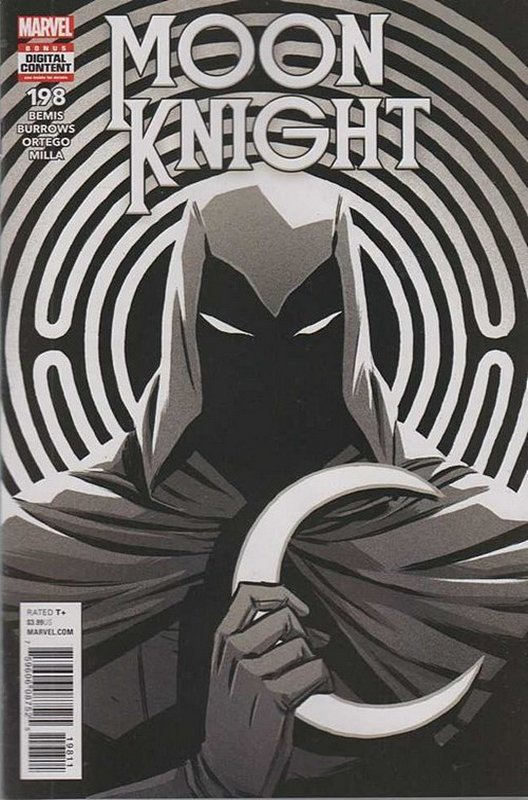 Cover of Moon Knight (Vol 8) #198. One of 250,000 Vintage American Comics on sale from Krypton!