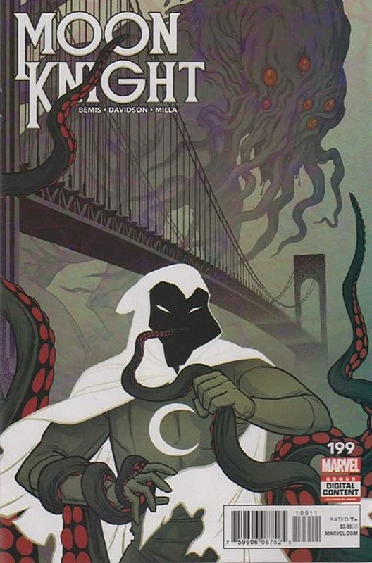 Cover of Moon Knight (Vol 8) #199. One of 250,000 Vintage American Comics on sale from Krypton!