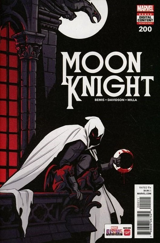 Cover of Moon Knight (Vol 8) #200. One of 250,000 Vintage American Comics on sale from Krypton!