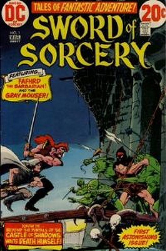 Cover of Sword of Sorcery (Vol 1) #1. One of 250,000 Vintage American Comics on sale from Krypton!