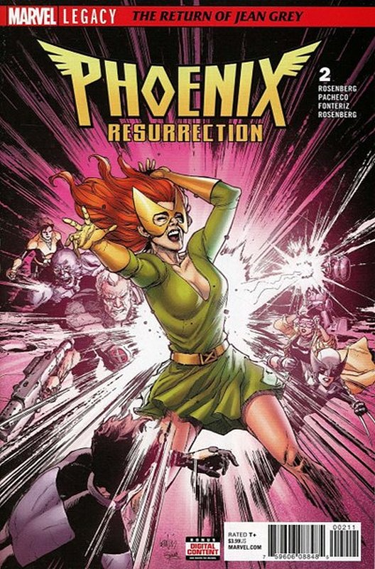 Cover of Phoenix Resurrection: Return Jean Grey (2017 Ltd) #2. One of 250,000 Vintage American Comics on sale from Krypton!