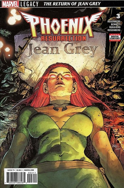 Cover of Phoenix Resurrection: Return Jean Grey (2017 Ltd) #3. One of 250,000 Vintage American Comics on sale from Krypton!