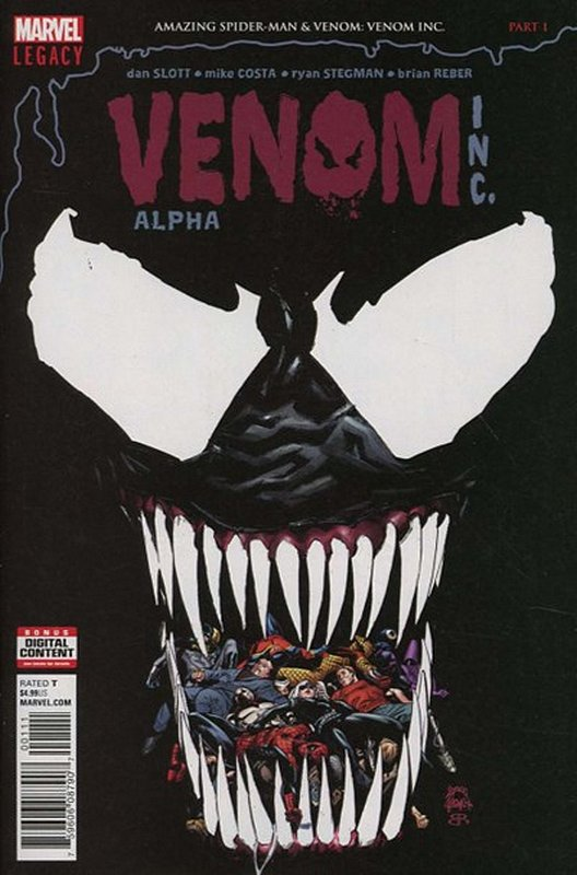 Cover of Amazing Spider-Man: Venom Inc  (2017 Ltd) #1. One of 250,000 Vintage American Comics on sale from Krypton!