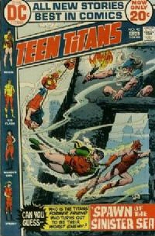 Cover of Teen Titans (Vol 1) #40. One of 250,000 Vintage American Comics on sale from Krypton!