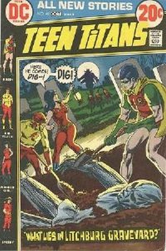 Cover of Teen Titans (Vol 1) #41. One of 250,000 Vintage American Comics on sale from Krypton!