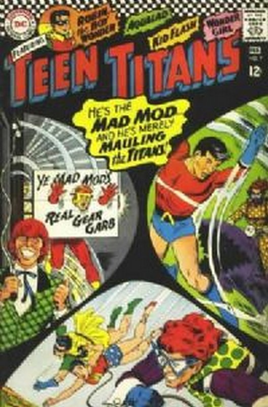 Cover of Teen Titans (Vol 1) #7. One of 250,000 Vintage American Comics on sale from Krypton!