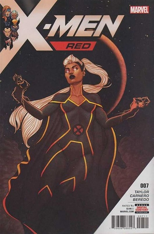 Cover of X-Men: Red (Vol 1) #7. One of 250,000 Vintage American Comics on sale from Krypton!