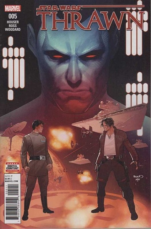 Cover of Star Wars: Thrawn (2018 Ltd) #5. One of 250,000 Vintage American Comics on sale from Krypton!