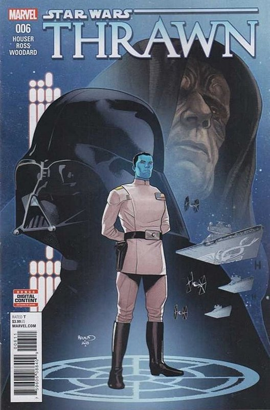 Cover of Star Wars: Thrawn (2018 Ltd) #6. One of 250,000 Vintage American Comics on sale from Krypton!