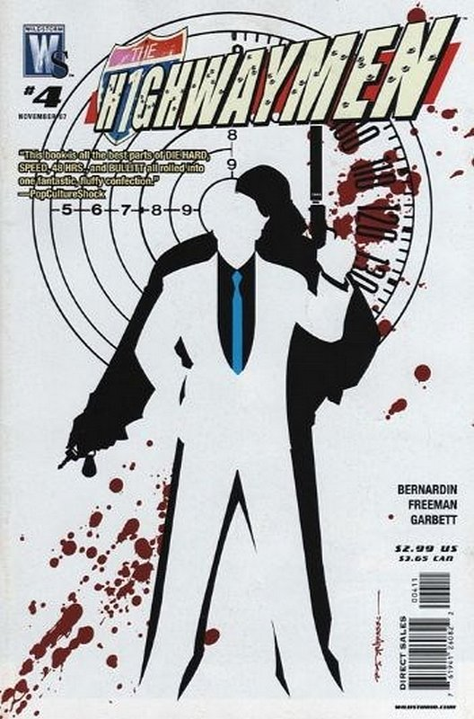 Cover of Highwaymen (2007 Ltd) #4. One of 250,000 Vintage American Comics on sale from Krypton!