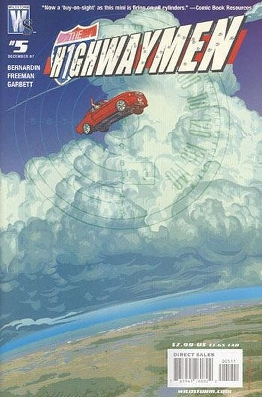 Cover of Highwaymen (2007 Ltd) #5. One of 250,000 Vintage American Comics on sale from Krypton!