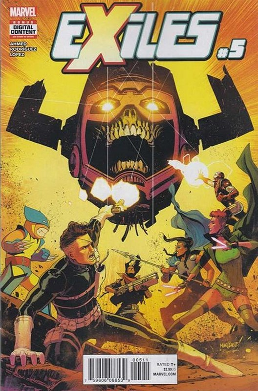 Cover of Exiles (Vol 3) #5. One of 250,000 Vintage American Comics on sale from Krypton!
