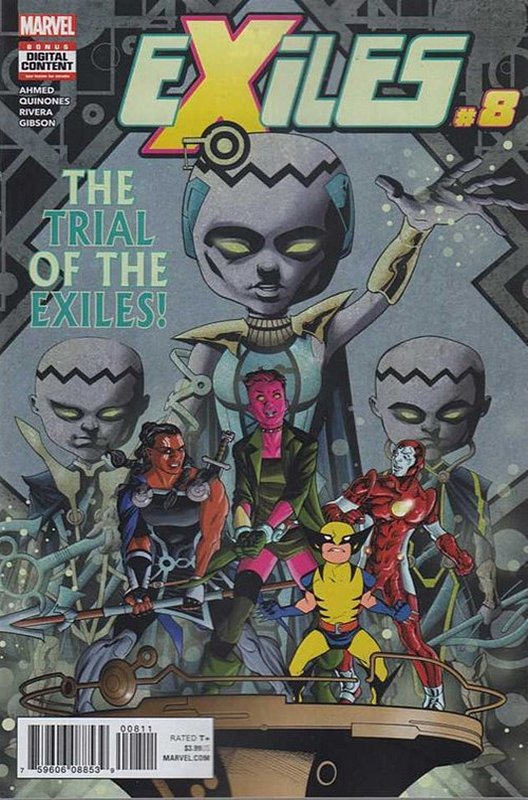 Cover of Exiles (Vol 3) #8. One of 250,000 Vintage American Comics on sale from Krypton!