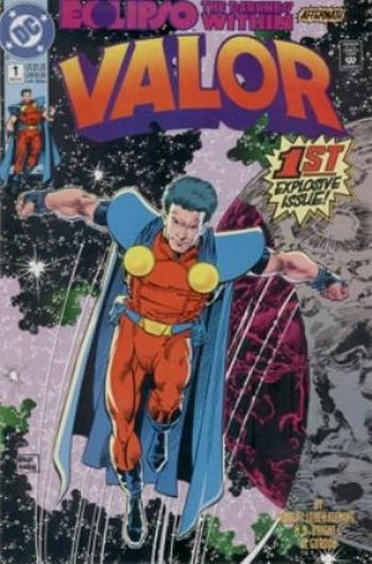 Cover of Valor (Vol 1) #1. One of 250,000 Vintage American Comics on sale from Krypton!