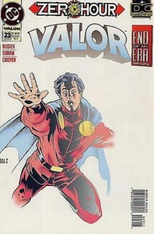 Cover of Valor (Vol 1) #23. One of 250,000 Vintage American Comics on sale from Krypton!