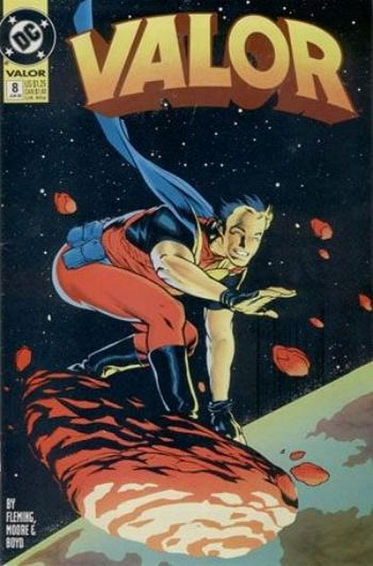 Cover of Valor (Vol 1) #8. One of 250,000 Vintage American Comics on sale from Krypton!