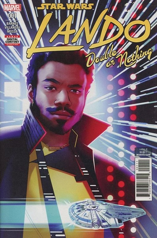 Cover of Star Wars: Lando - Double or Nothing (2018 Ltd) #1. One of 250,000 Vintage American Comics on sale from Krypton!