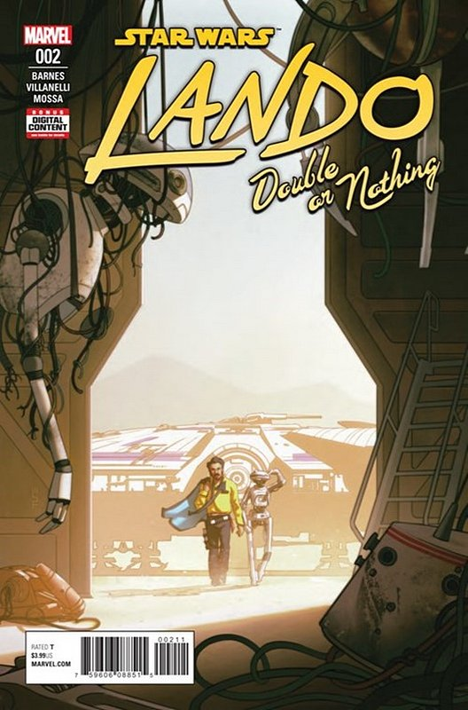 Cover of Star Wars: Lando - Double or Nothing (2018 Ltd) #2. One of 250,000 Vintage American Comics on sale from Krypton!