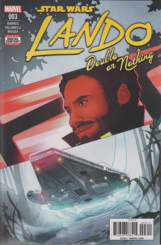 Cover of Star Wars: Lando - Double or Nothing (2018 Ltd) #3. One of 250,000 Vintage American Comics on sale from Krypton!