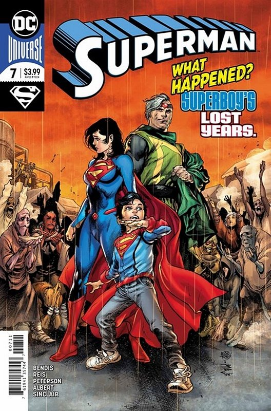 Cover of Superman (Vol 6) #7. One of 250,000 Vintage American Comics on sale from Krypton!
