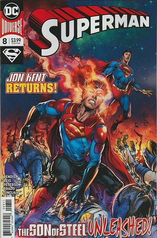 Cover of Superman (Vol 6) #8. One of 250,000 Vintage American Comics on sale from Krypton!