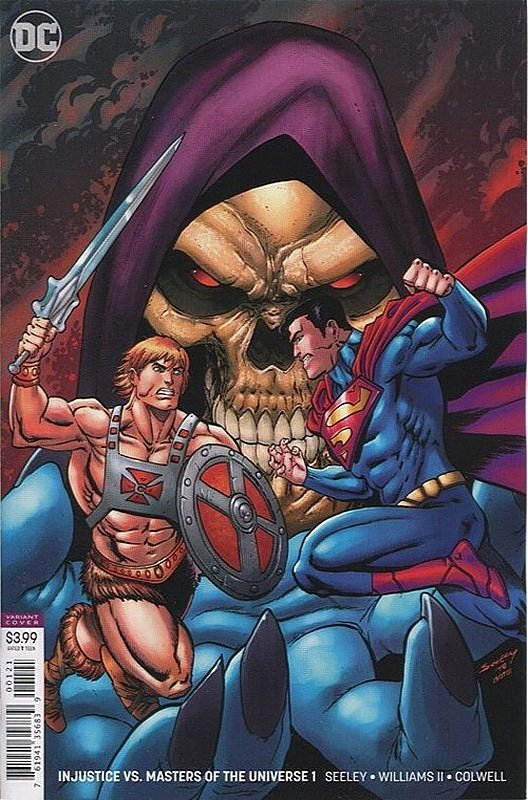 Cover of Injustice vs Masters of Universe (2018 Ltd) #1. One of 250,000 Vintage American Comics on sale from Krypton!