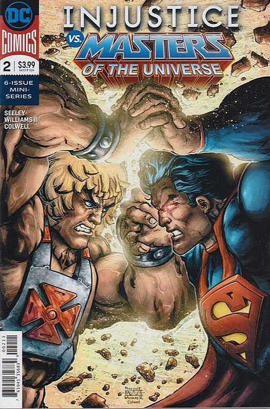 Cover of Injustice vs Masters of Universe (2018 Ltd) #2. One of 250,000 Vintage American Comics on sale from Krypton!