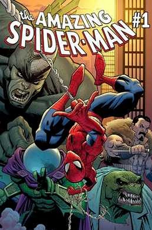 Cover of Amazing Spider-Man (Vol 6) #1. One of 250,000 Vintage American Comics on sale from Krypton!