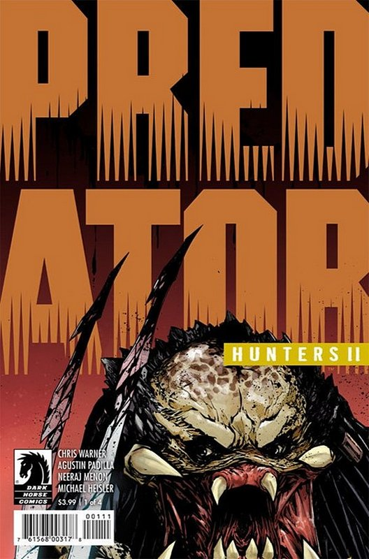 Cover of Predator: Hunters II (2018 Ltd) #1. One of 250,000 Vintage American Comics on sale from Krypton!