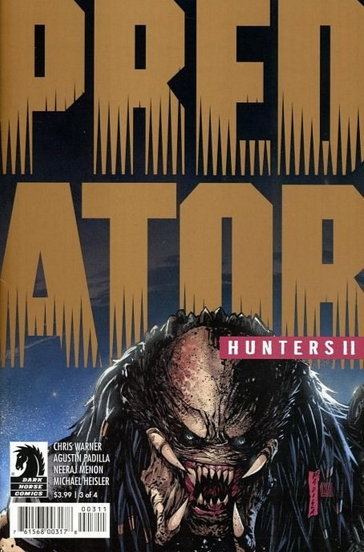 Cover of Predator: Hunters II (2018 Ltd) #3. One of 250,000 Vintage American Comics on sale from Krypton!